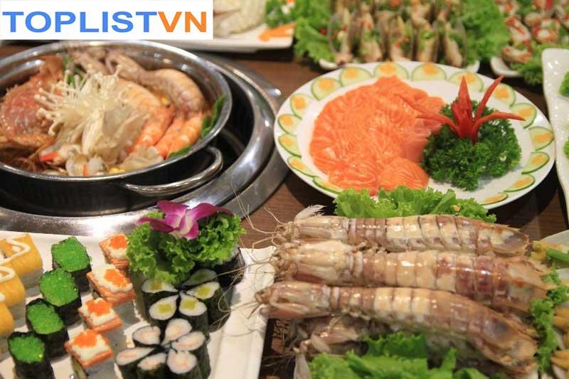 Buffet Hải sản Chef Dzung
