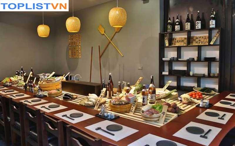 Nhà hàng Jiro Robatayaki