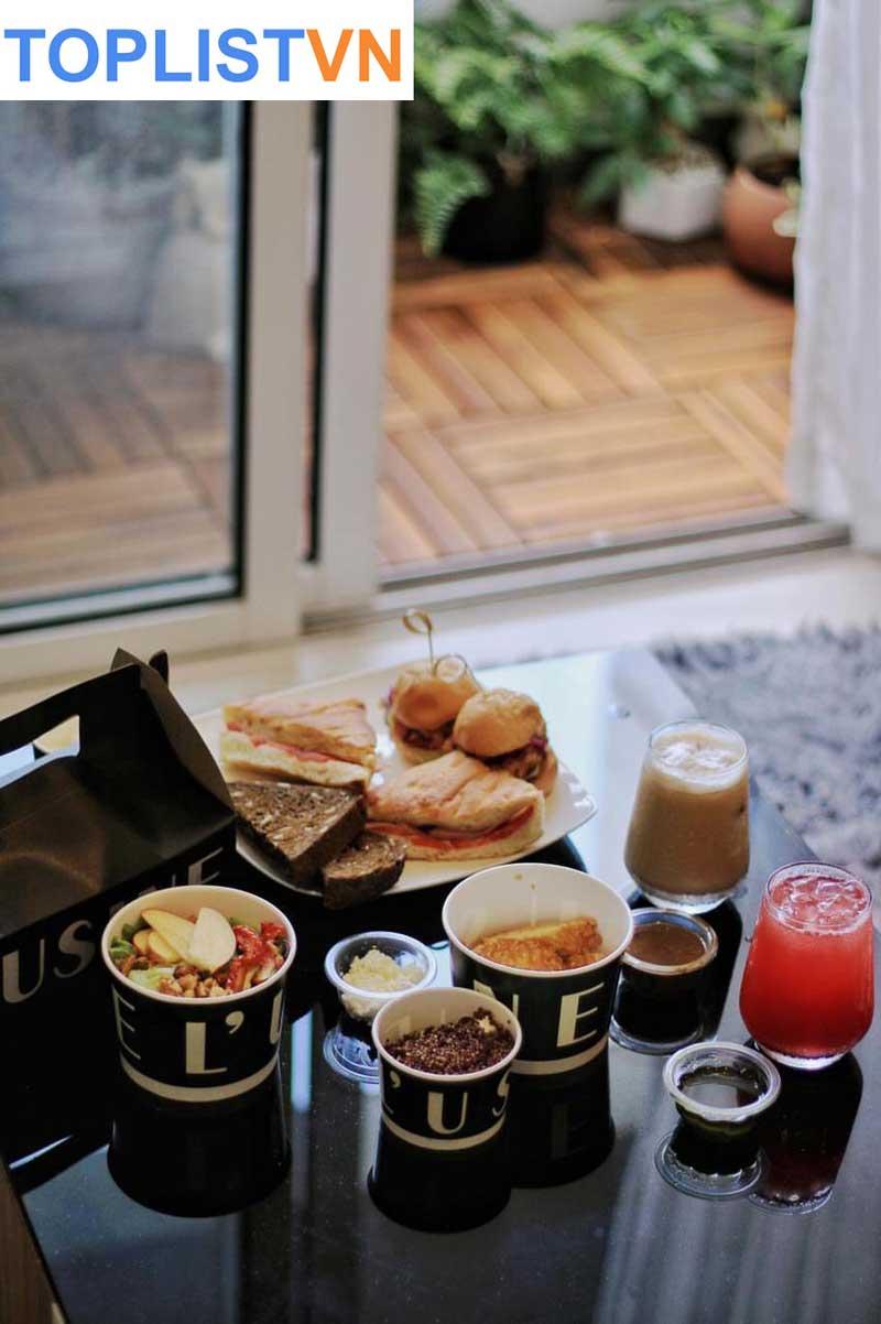 L'Usine Cafe - Tiệm cà phê- bánh phong cách Châu Âu