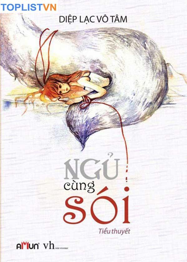 Bìa tiểu thuyết ngôn tình Ngủ Cùng Sói.
