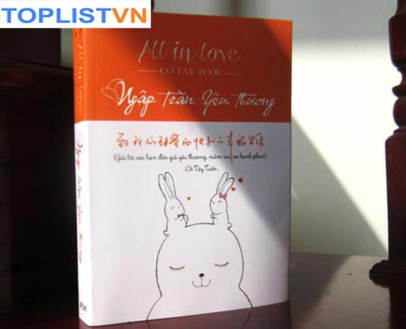 """Bìa cuốn sách """"All in love – Ngập tràn yêu thương"""""""