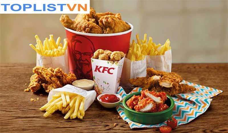 Hệ thống cửa hàng KFC tại Hà Nội