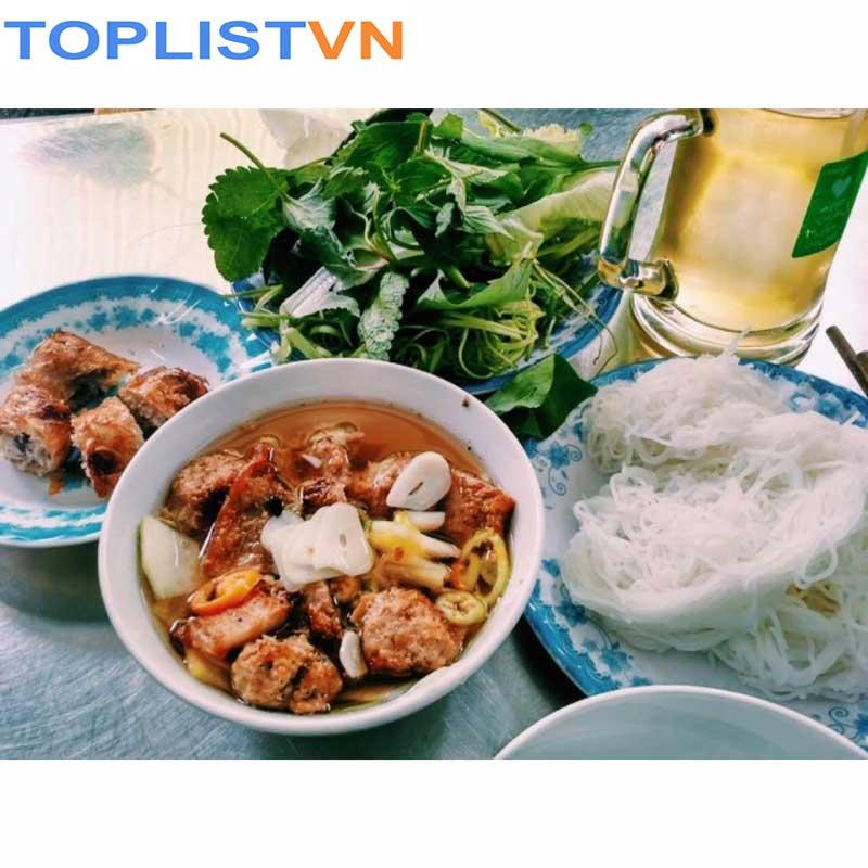 Bún chả Nguyễn Biểu