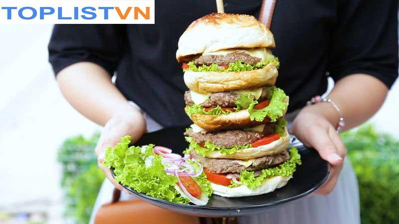 Burger bò nướng 4 tầng – Ette Bơ Gơ