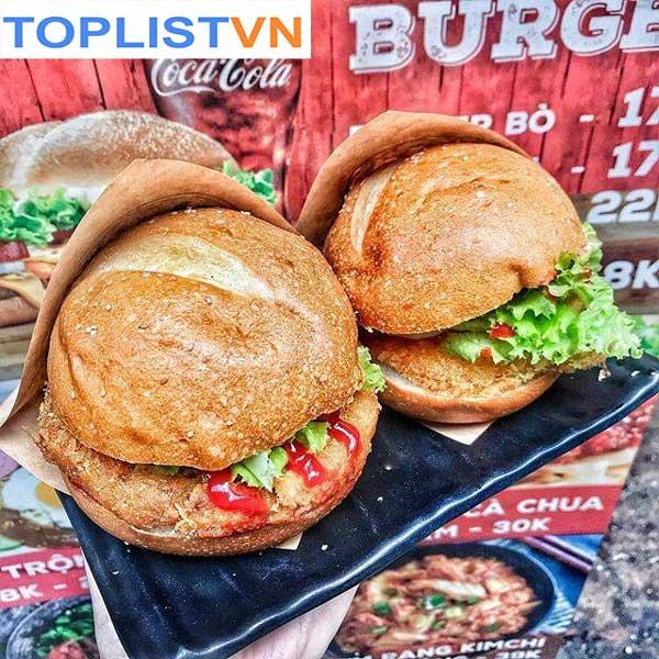Burger gà – The Canteen