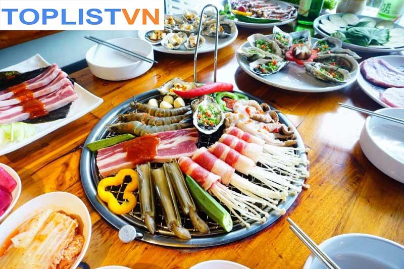 Lẩu nướng Tengcho korea BBQ