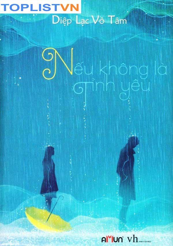 Bìa tiểu thuyết ngôn tình Nếu Không Là Tình Yêu