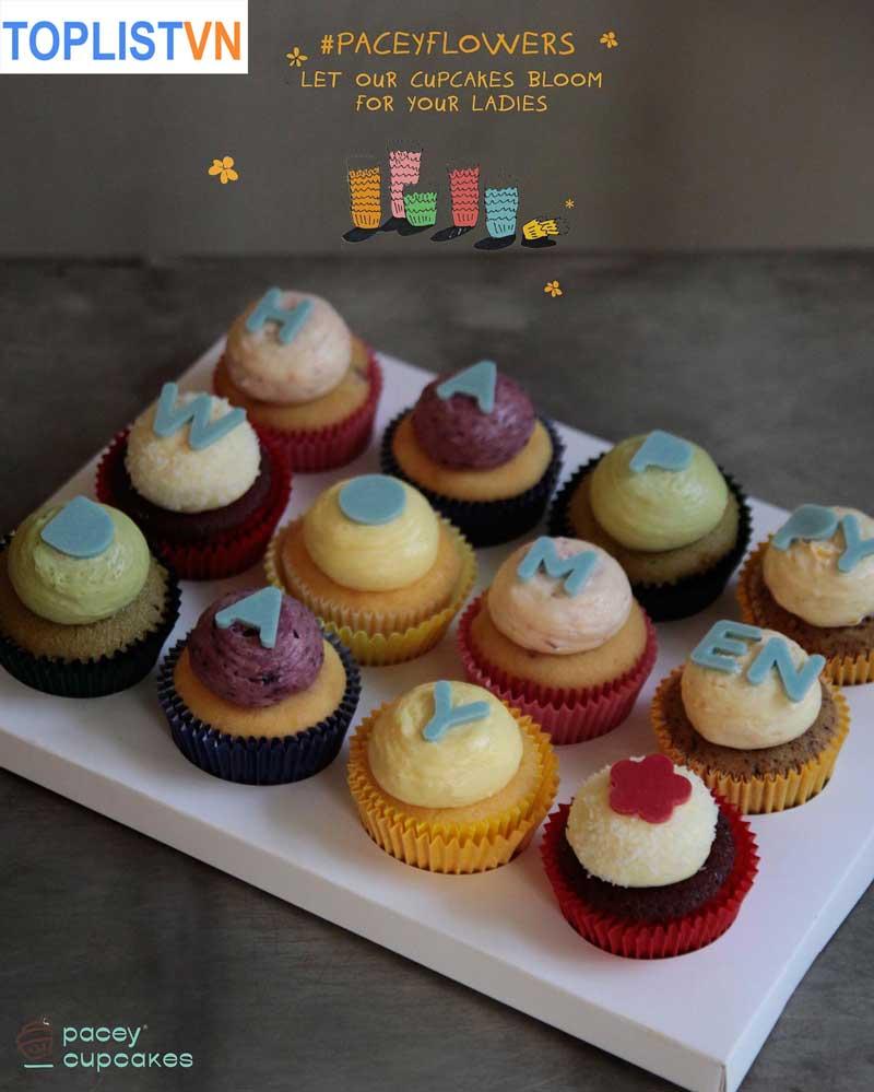 Pacey Cupcakes - Tiệm bánh dành cho những ai yêu cupcake