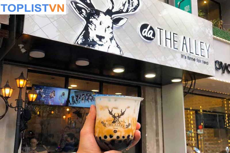 The Alley-Trà sữa đường đen