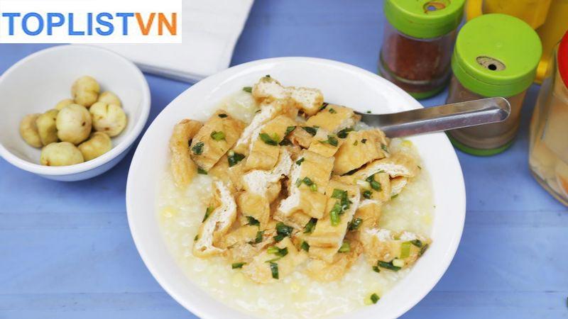 Cháo đậu phụ cà muối - Tây Sơn