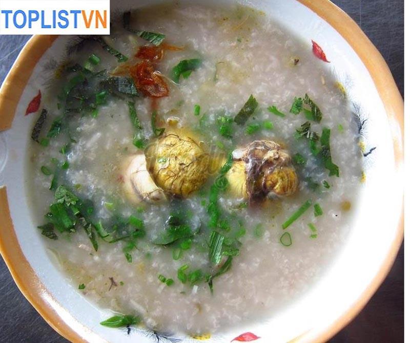 Cháo Trứng Vịt Lộn- Hàng Giấy